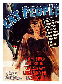 The Cat People poster